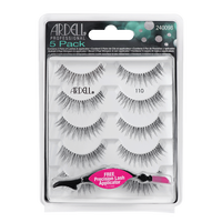 Natural Black Lashes #110 - 5 pack