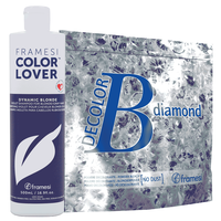 Diamond Powder Bleach with Dynamic Blonde Shampoo