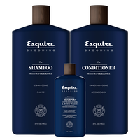 Esquire Shampoo & Conditioner with 3 oz 3-in-1