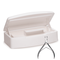 Sterilization Implement Tray with 1/2 Jaw Cuticle Nipper