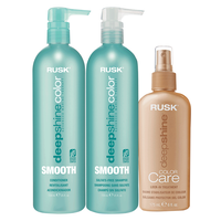Deepshine Smooth Shampoo & Conditioner with Treatment