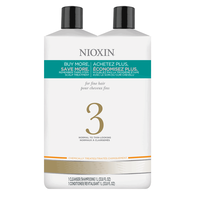 System 3 Cleanser & Scalp Therapy Liter Duo
