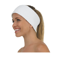 Betty Dain Terry & Velcro Spa Headband