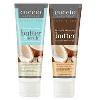 Coconut & White Ginger Butter & Scrub with Butter Blend