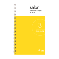 Appointment Book 6-Column