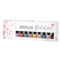 Vinylux Flirt Pinkies - 9 Piece Assorted Mini Colors