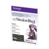 Black Nitralon Glove-Med