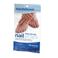 HandsDown® Soak Off Gel (Finger/Toe) Wraps