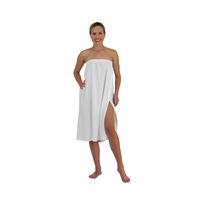 Betty Dain Terry Cloth White Spa Wrap