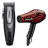 FX673 Cordless Clipper with Rob The Original Pattern Dryer