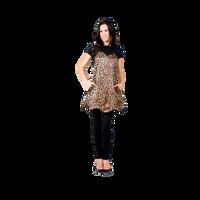 Betty Dain Leopard Couture Apron