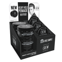 Heavy Hold Pomade - 6 count display