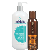 Quick Tan Mist and Body Lotion Duo
