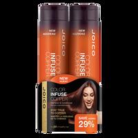 Color Infuse Copper Shampoo & Conditioner Duo
