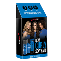 Curly Sexy Hair Mini Try Me Kit