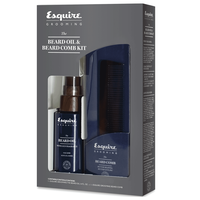 Esquire Grooming Beard Oil and Beard Comb