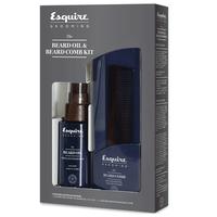 Esquire Grooming Beard Oil and Beard Comb