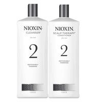 System 2 Cleanser & Scalp Therapy Liter Duo