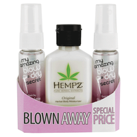My Amazing Blow Dry Secret & Hempz Original Body Moisturizer