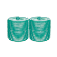 Self-Grip Rollers - 2 1/2 Inch Green 2–Count