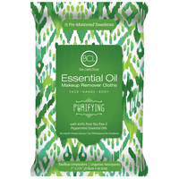 Essential Oil Makeup Wipes - Purifying Tea Tree & Peppermint