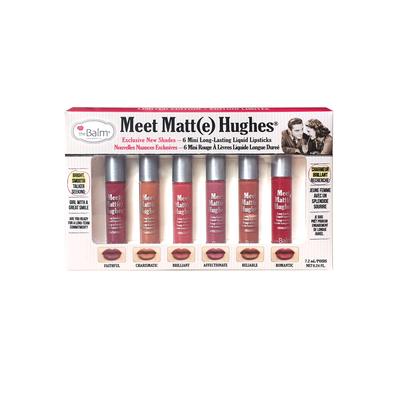 Meet Matt (e) Hughes -  6 Mini Long-Lasting Liquid Lipsticks