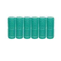 Hair Ware Self-Grip Rollers - 7/8 Inch Green 6–Count