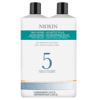 Systems 5 Cleanser & Scalp Therapy Liter Duo