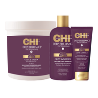 CHI Deep Brilliance Shampoo & Conditioner w/soothe & protect