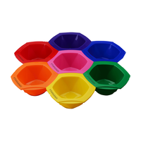 Connect and Color Bowls Rainbow 7 pack