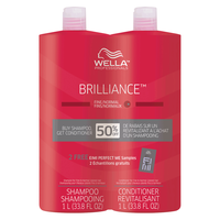Brilliance S/Poo & Cond Duo for fine/normal colored hair