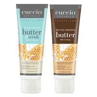 Milk & Honey Butter & Scrub with Butter Blend