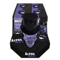 Alpha Male Beard, Hair and Tattoo Oil - 4 piece display
