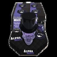 Alpha Male Hair and Beard Oil - 4 piece display