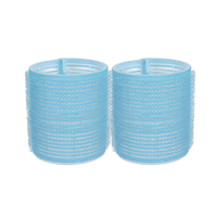 Self-Grip Rollers - 2 1/4 Inch Aqua 2–Count