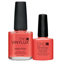 Shellac/Vinylux - Desert Poppy Duo