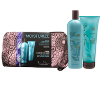 Jasmine Shampoo/Conditioner Duo with Cosmetic Travel Case