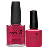 Fingers and Toes Hot Chilis Vinylux and Shellac Duo