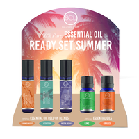 Summer Essential Oils - 20 count display