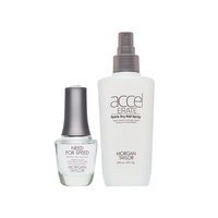 Need for Speed Top Coat with Accelerate Quick Dry Spray