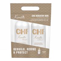 CHI Keratin Shampoo & Conditioner with Silk Infusion