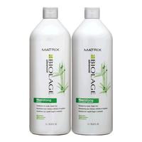 Biolage FiberStrong Shampoo & Conditioner Liter Duo