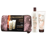 Coconut Papaya Duo with Cosmetic Travel Bag