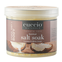 Coconut & White Ginger Scentual Salt Soak