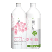 Biolage Sugar Shine Shampoo & Conditioner Liter Duo