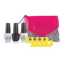 Nail Envy Pedicure Pack with Fringe Bag