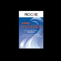 Pro Care Jumbo End Wraps 2.5 x 4 Inch