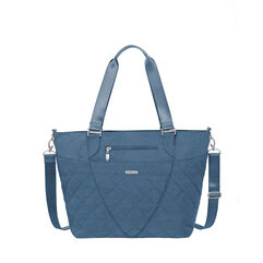 quilted avenue tote