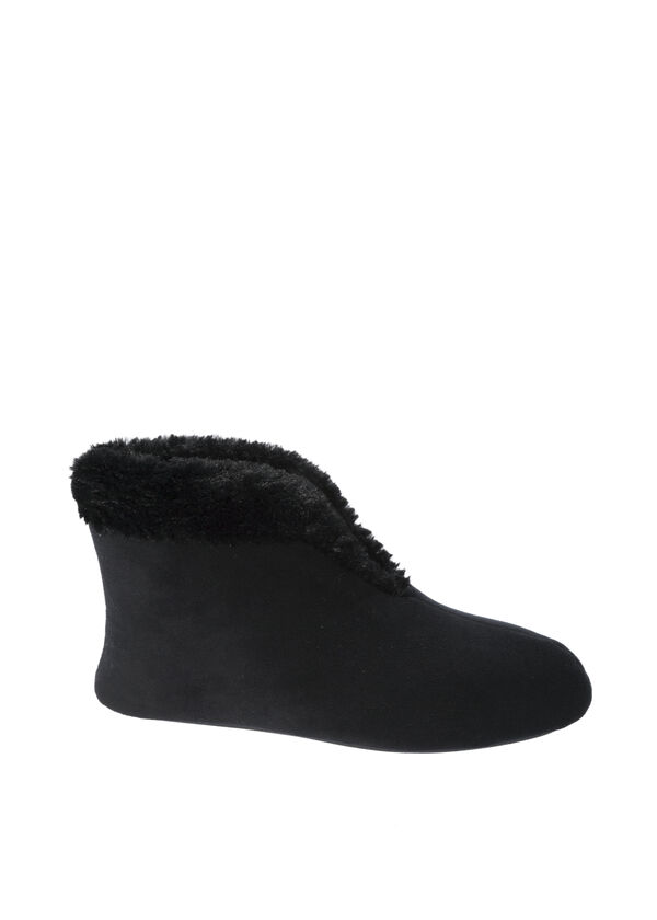 Velour Bootie Slippers