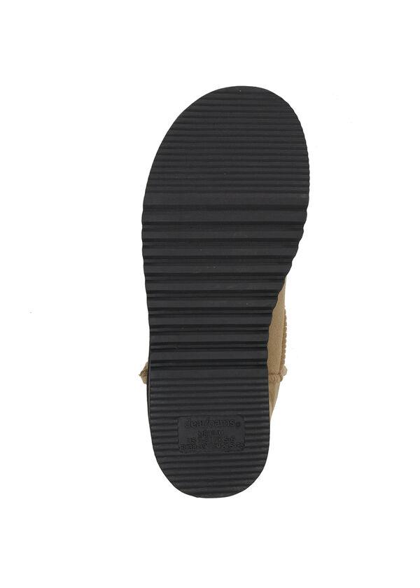 Microsuede Boot Slipper with Tape Loop